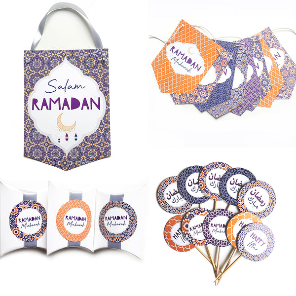 kleines RAMADAN Deko Set-SUNSET Collection