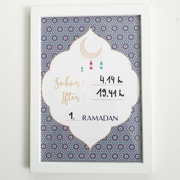 Ramadan board - SUNSET Collection