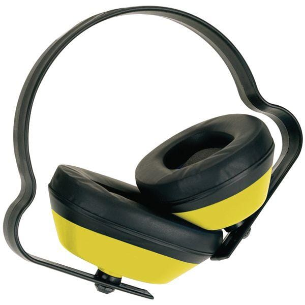 J Muff Ear Defender - Yellow - Window Cleaning Warehouse Ltd