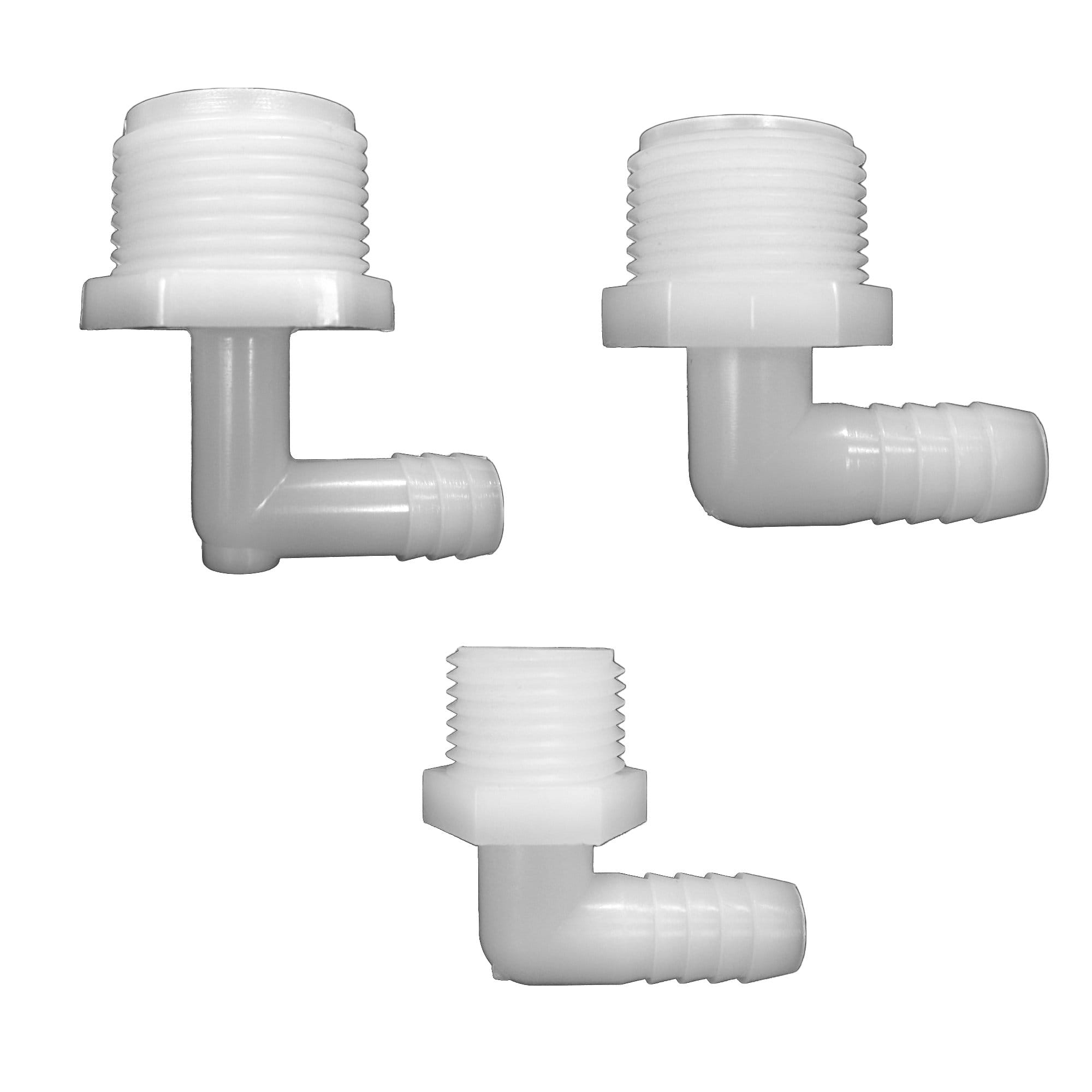 "NYLON 1/2"" Hose Tail Threaded TANK Connectors - Window Cleaning Warehouse Ltd"