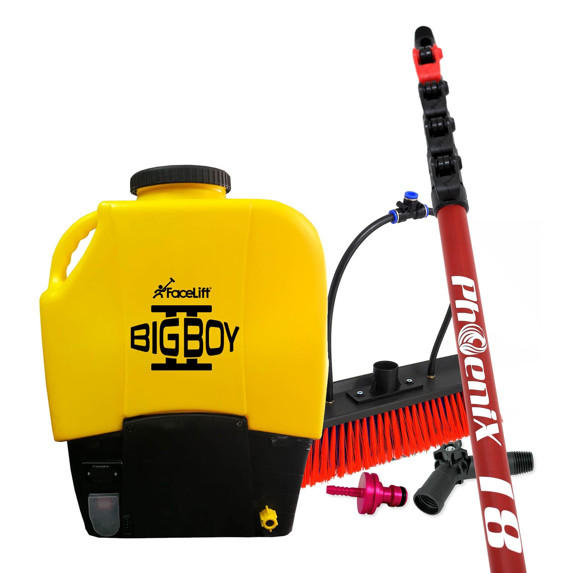 BigBoy 2 Backpack & Phoenix Glass Fibre Bundle