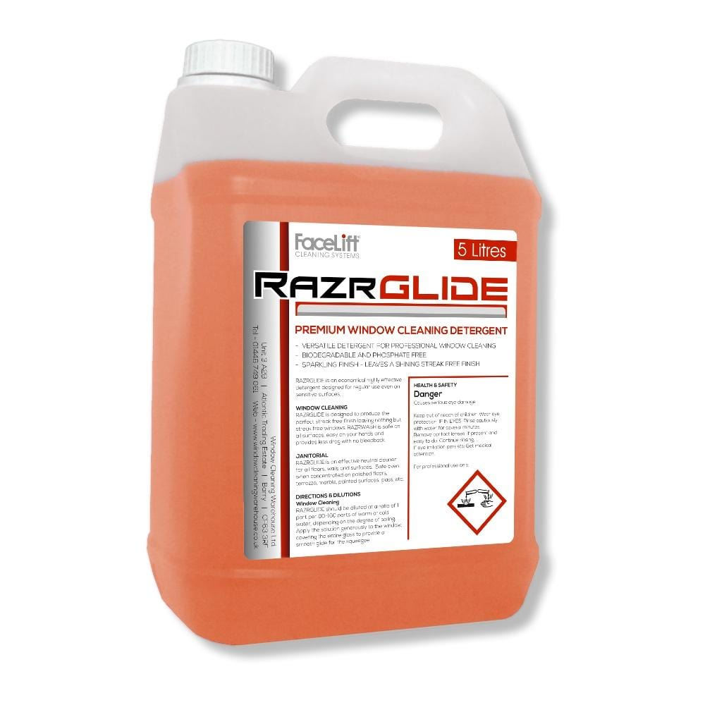 FaceLift® RazrGLIDE PREMIUM Detergent - Window Cleaning Warehouse Ltd