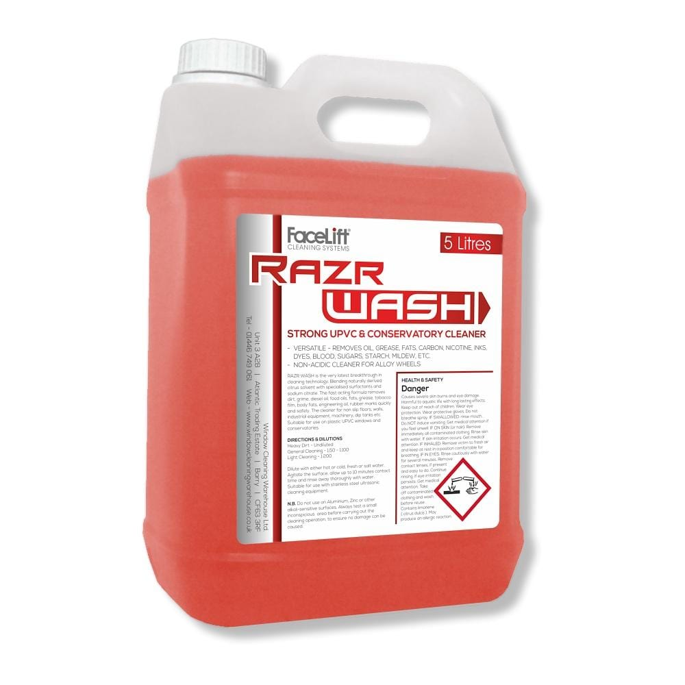 FaceLift® RazrWASH UPVC Cleaner - Window Cleaning Warehouse Ltd