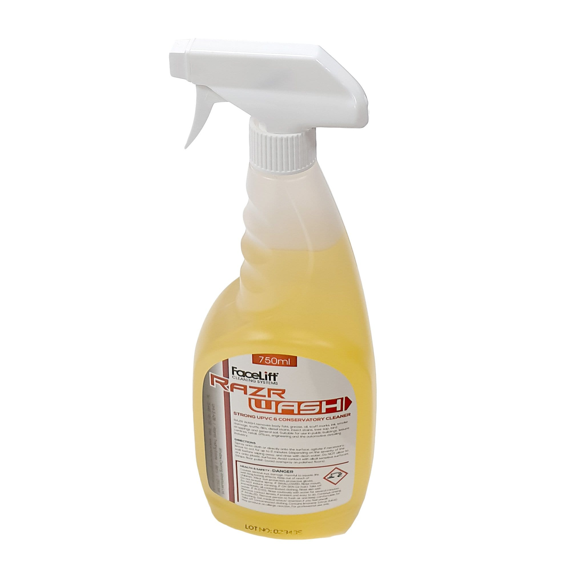 FaceLift® RazrWASH UPVC Cleaner - Ready To Use 750ml