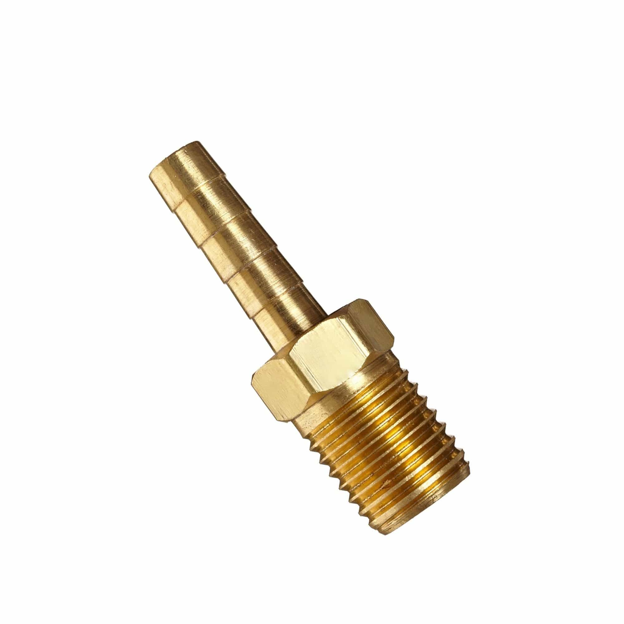 BRASS Hose Tail Threaded Connectors - Window Cleaning Warehouse Ltd