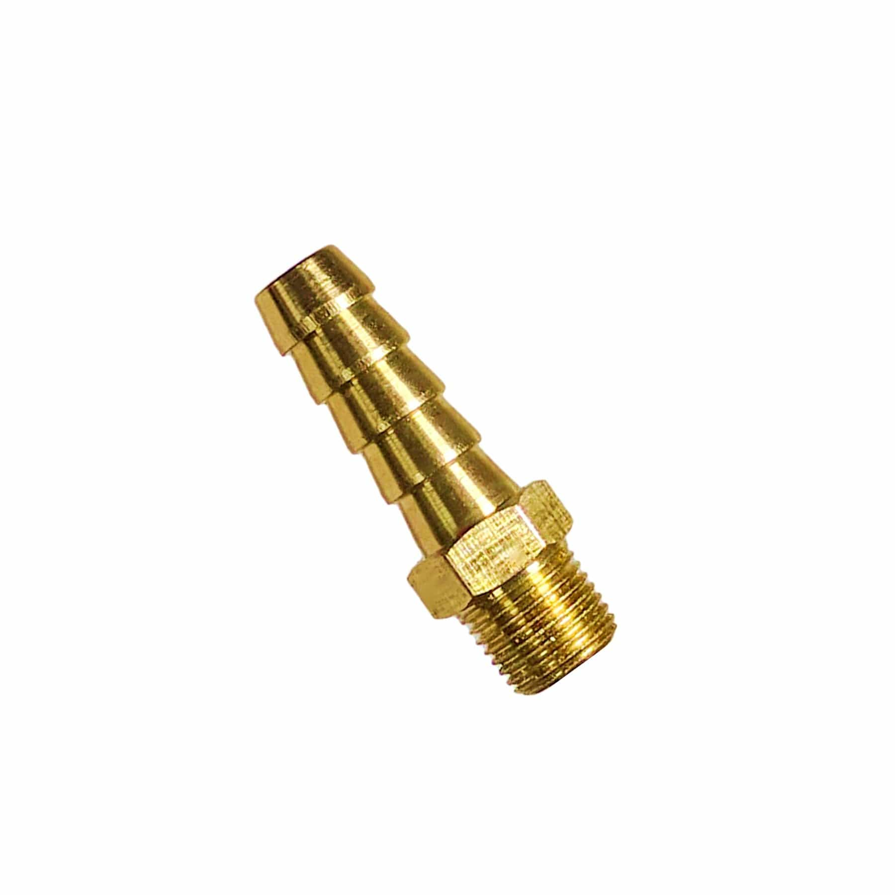 BRASS 8mm Threaded Hose Reel ADAPTER - Window Cleaning Warehouse Ltd