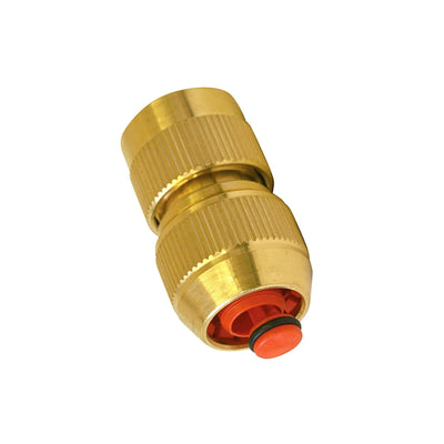 "BRASS Hozelock Female to 1/2"" Hose Connectors - Window Cleaning Warehouse Ltd"