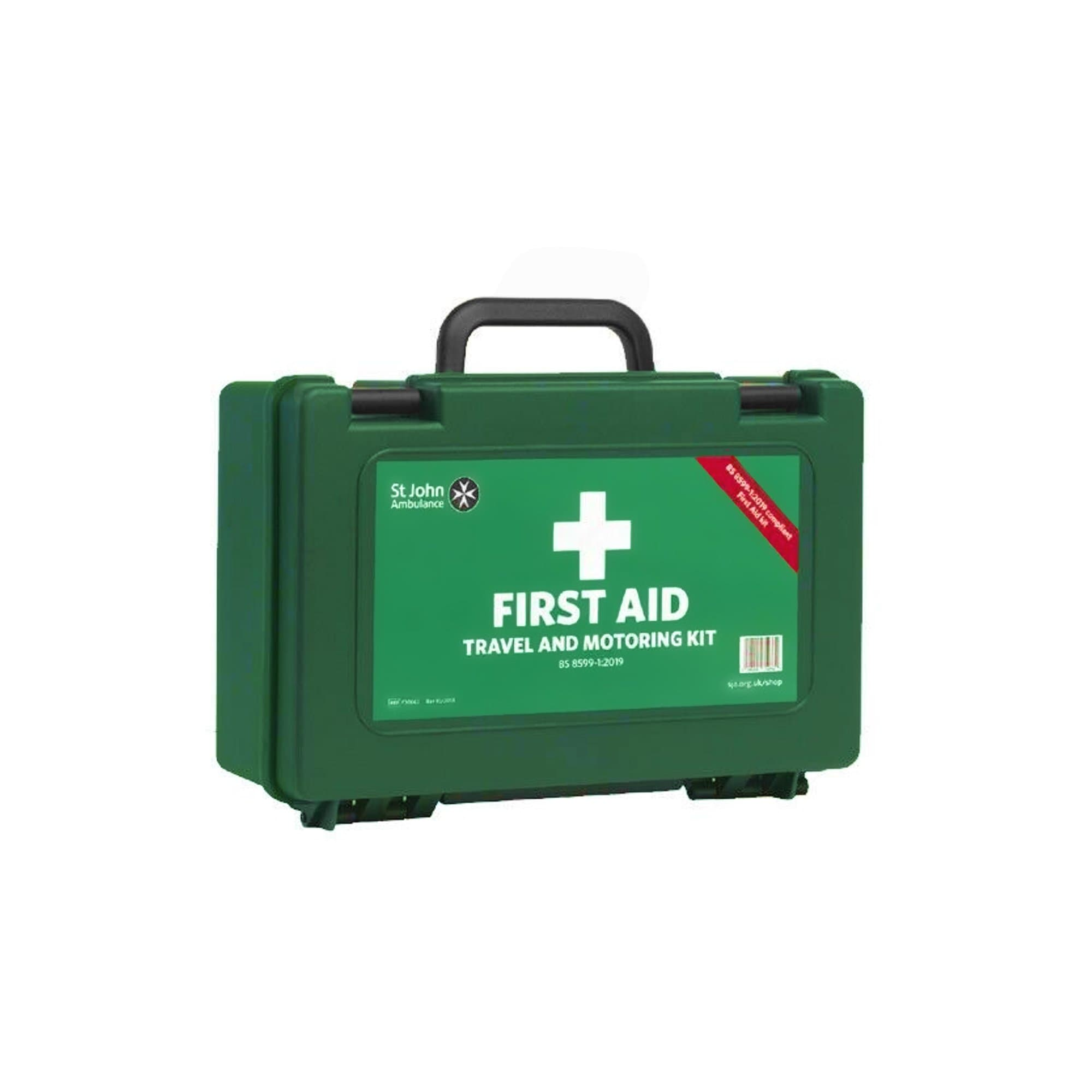 St John Ambulance BSI Travel and Motoring First Aid KIT - Window Cleaning Warehouse Ltd
