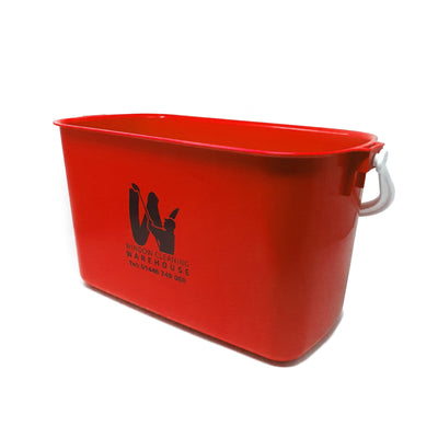 WCW Printed Bucket - 9L - Window Cleaning Warehouse Ltd