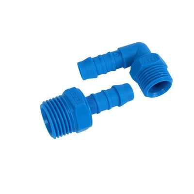 "NYLON 1/2"" Hose Tail to 1/2"" Threaded HOUSING Connectors - Window Cleaning Warehouse Ltd"