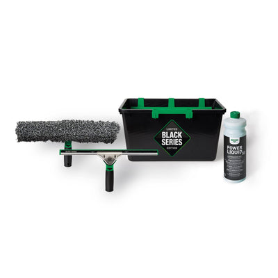 Unger Black Series Window Cleaning Kit - Limited Edition