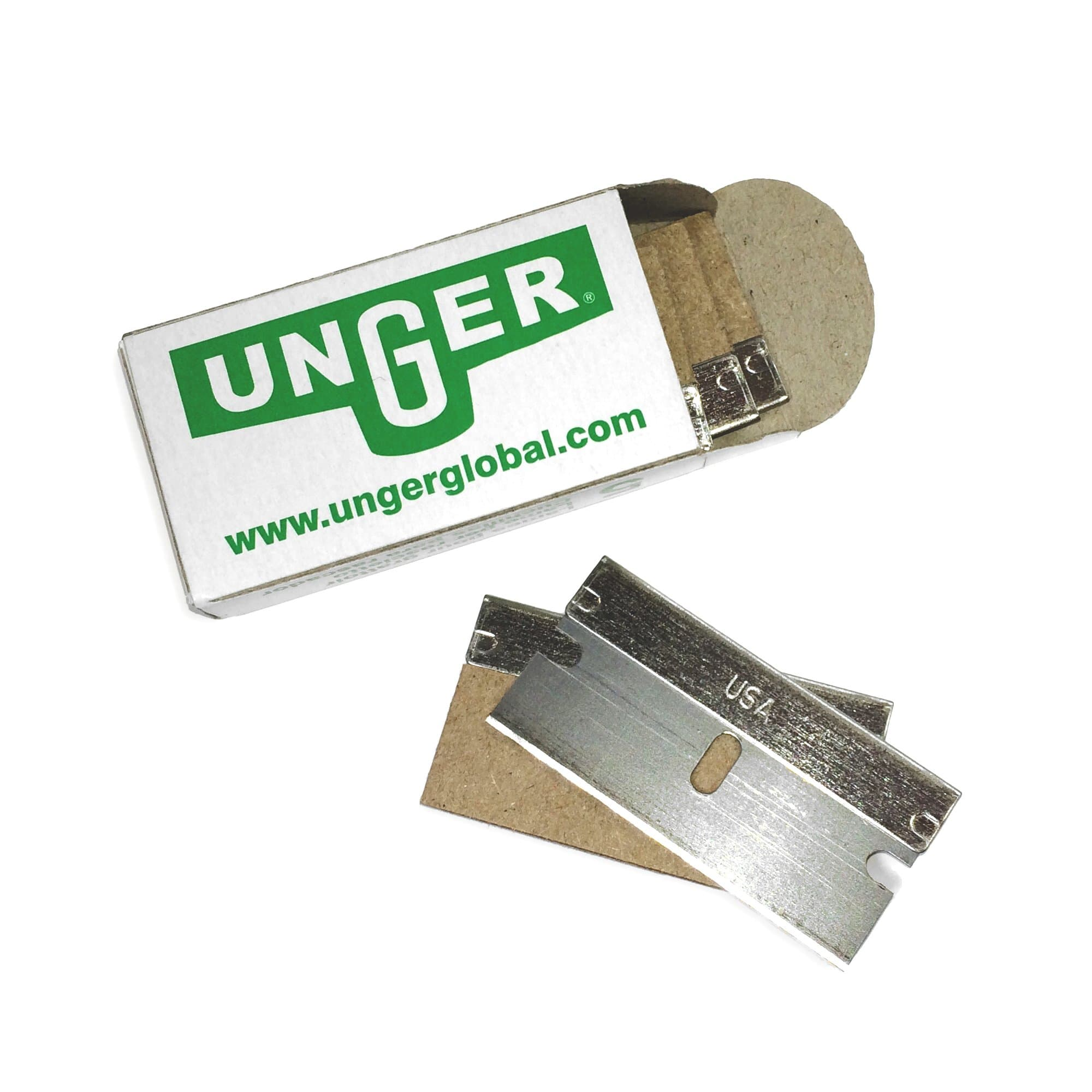 Unger ErgoTec® Safety Scraper Blades - Window Cleaning Warehouse Ltd