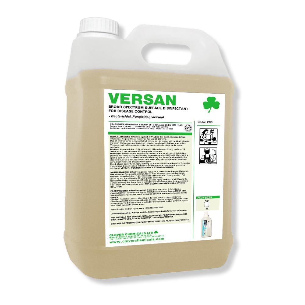 Versan Virucidal Surface Disinfectant - 5L