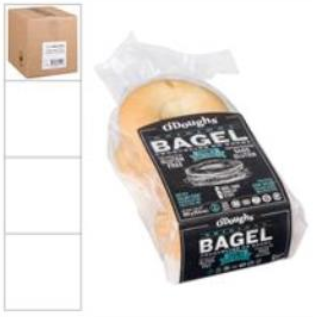 O'DOUGHS BAGEL THINS ORIGINAL GTF T&S (6/6EA)