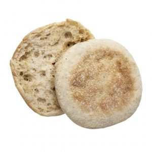 Image of an Oakrun Farms Whole Wheat English Muffin