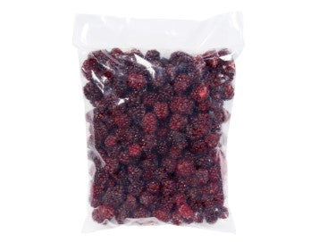 Bag of Alasko frozen blackberries