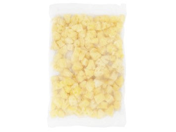 Bag of Alasko frozen pineapple
