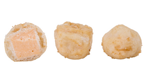 Three High Liner Battered Cheese Bites