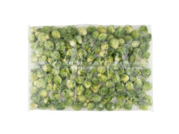 Bag of Alasko frozen brussel sprouts