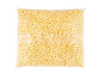 Bag of Alasko frozen corn kernels