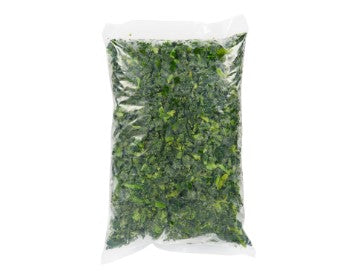 Bag of Alasko frozen chopped spinach