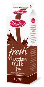 Carton of Gay Lea Chocolate Milk