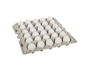 Carton of two and a half dozen Burnbrae  small Grade A eggs