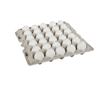 Carton of two and a half dozen Burnbrae  medium Grade A eggs