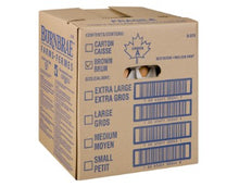Load image into Gallery viewer, Cardboard box containing 15 dozen Burnbrae medium free run eggs