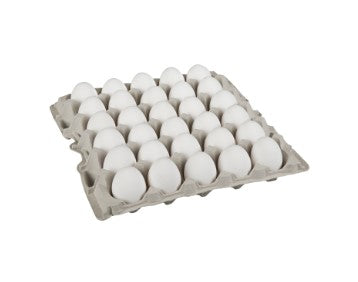 Carton of two and a half dozen Burnbrae  large Grade A eggs