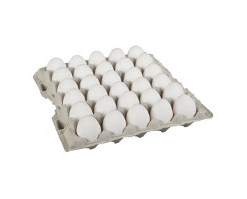 Carton of two and a half dozen Burnbrae extra large Grade A eggs