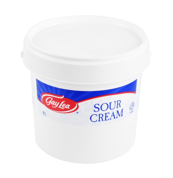 Pail of Gay Lead Sour Cream