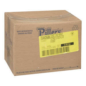 Box of Piller's fresh sliced turkey breast