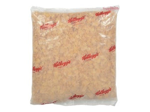 Clear bag of Kellogg's Frosted Flakes