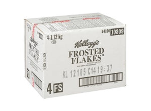 Cardboard case of Kellogg's Frosted Flakes