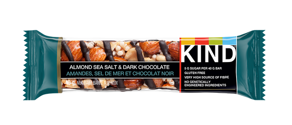 KIND BAR ALMOND, SS & DARK CHOC (36/40GM)
