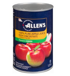 ALLENS JUICE APPLE CAN (12/1.05LT)