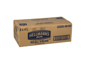 Cardboard case of Hellmann's Real Mayonnaise