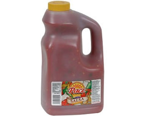 Plastic jug of Pace Medium Salsa