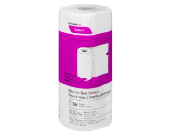 Roll of Cascade 2 ply paper towel in wrapping