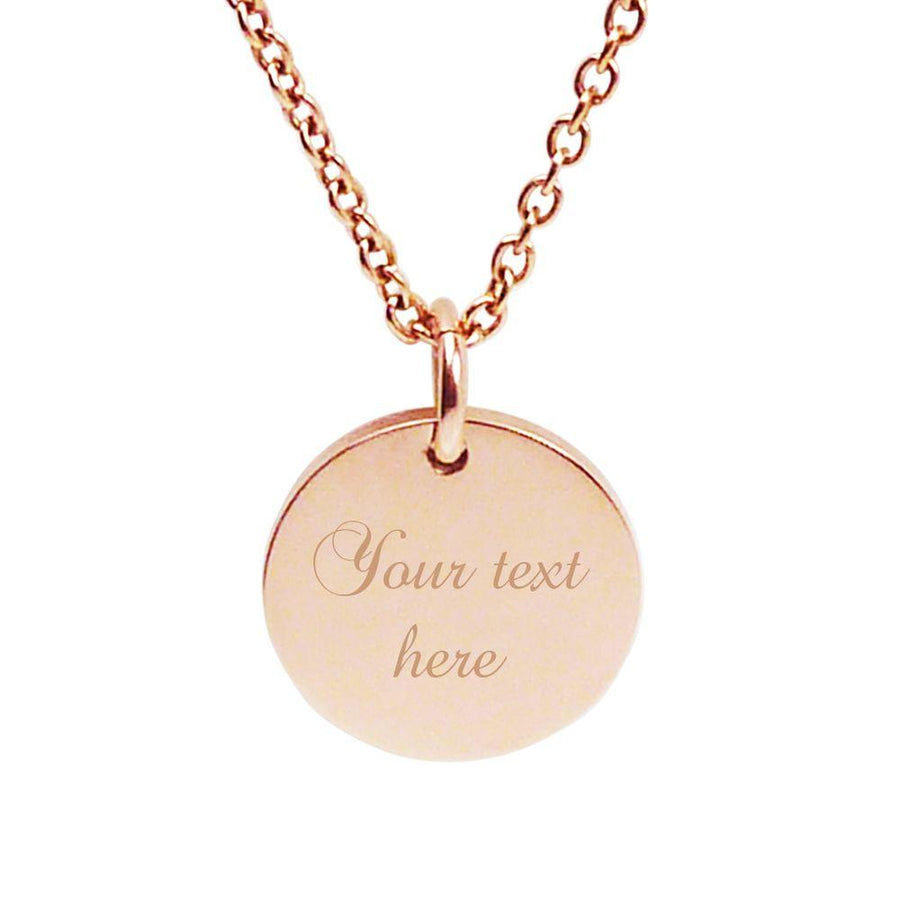 Rose Gold Pendant – Gift for Mum