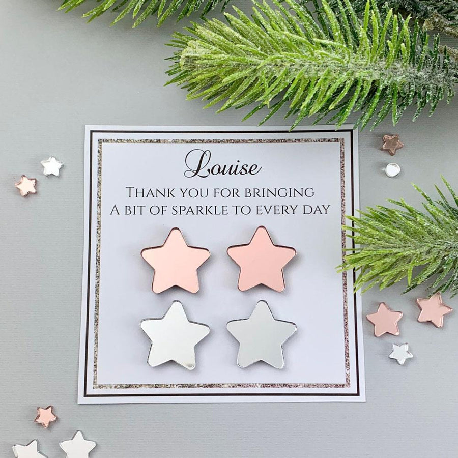 Personalised Gift Set of 6 magnets