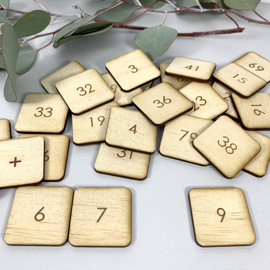 Number Tiles - Homeschool  Numeracy Resource