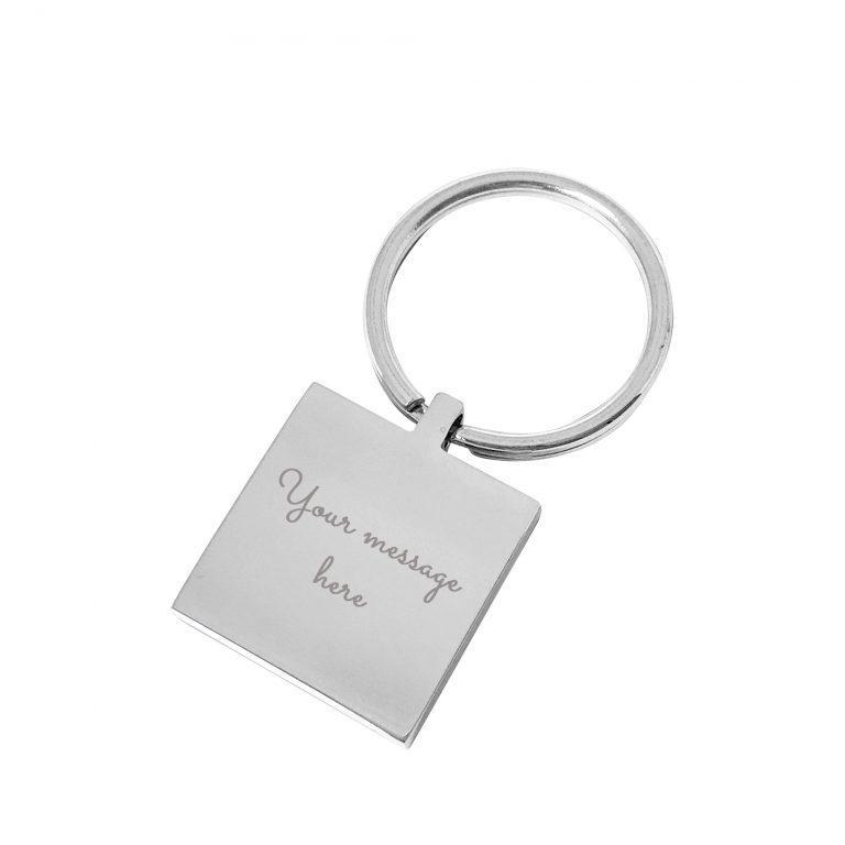 My Daddy – Silver engraved personalised keyring
