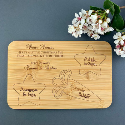 Personalised Santa Treat Board