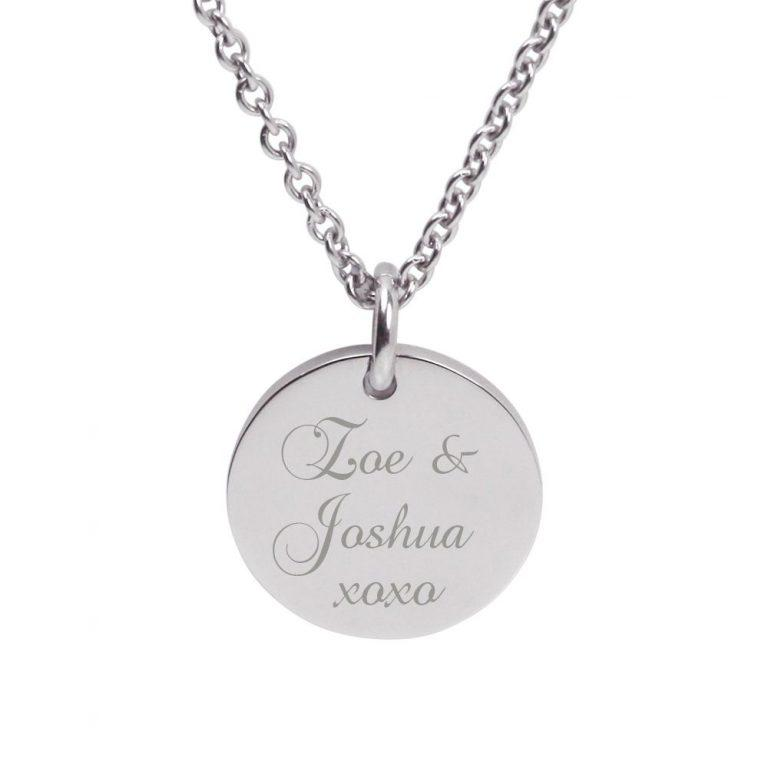 Silver Pendant – Gift for Mum