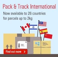 International Post Upgrade – Pack & Track