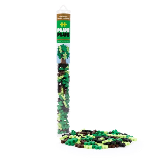 Plus-Plus Camouflage Colors Tube