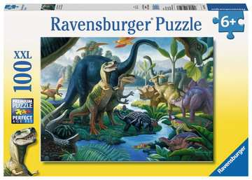 Land of Giants Dinosaur 100 Piece Puzzle