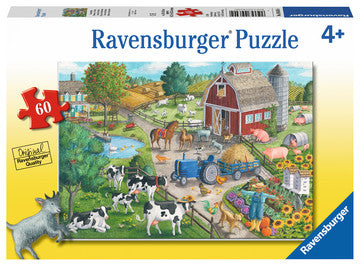 Home on the Range 60 Piece Puzzle